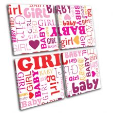 Baby Girls Room For Kids Room - 13-1310(00B)-MP01-LO